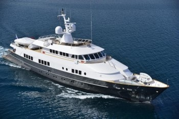 144' Berzinc luxury yacht