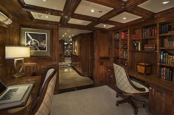 164' Silver Lining yacht office